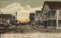Lakeport NH Elm Street c1910 Postcard