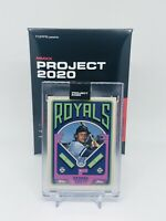 Topps PROJECT 2020 #75 George Brett by Grotesk Kansas City Royals