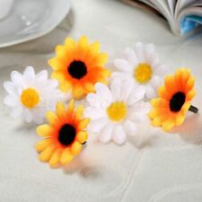 Cute Gerbera Daisy Flowers Heads DIY Lovely Party Wedding Decorative Realistic
