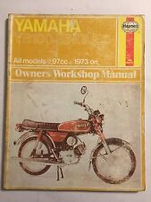 YAMAHA YB100 & YB100E HAYNES WORKSHOP MANUAL 97cc SINGLES 1973-1979>>