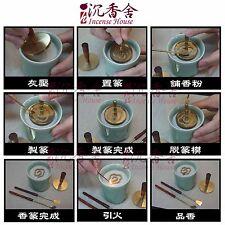Xiang Zuan Agarwood Aloeswood Pure Powder 5levels w/ Tool Set - Asia Xiang Art