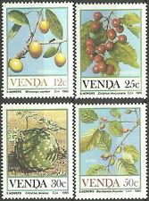 Venda - Früchte Satz postfrisch 1985 Mi. 112-115