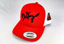 Bucking Bronco Hat, Rodeo Hat, Cap, Snapback, MAD, Horse, Red, Trucker hat, 3D