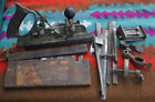 Antique Stanley No. 45 B Combination Plane Woodworking Tool w/ Accessories