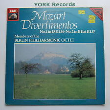 HQS 1432 - MOZART - Divertimentos No 1 & 2 BERLIN PHIL OCTET - Ex Con LP Record