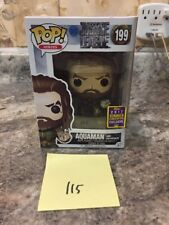 Nib Funko Pop Justice League Aquaman And Motherbox 2017 Convention Exclusive 199