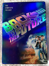 BACK TO THE FUTURE THE COMPLETE TRILOGY STEVEN SPIELBERG ROBERT ZEMECKIS (USED)