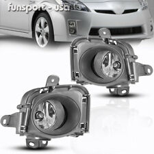 for 2010 2011 Toyota Prius Fog Lights Front Bumper Driving Lamps+Wiring w/Switch