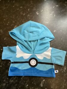 Build A Bear Pokemon Clothes Dive Ball Hoodie Only ,For Piplup , NO BEAR BNWT