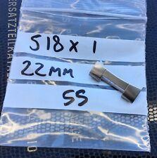Tissot T12 Seastar Vintage 518 22mm Steel End Piece. Fits GF Bracelet. One Only