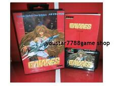 Gaiares for Sega MegaDrive Video Game Console 16 bit MD card for japanese