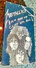 METALLICA HOME VIDEO CLIFF 'EM ALL VHS 1983-1986 FOOTAGE HEAVY METAL VINTAGE rar