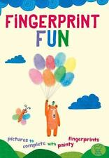 Fingerprint Fun: Pictures to Complete with Painty Fingertips,