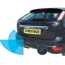 Streetwize Reverse Parking Sensor System With Audio Warning & LED Display 12v