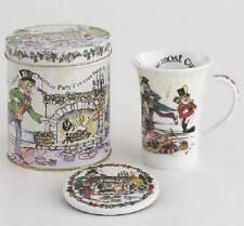 Paul Cardew Design Alice Wonderland Tea Party 14 oz Mug Coaster Decorative Tin