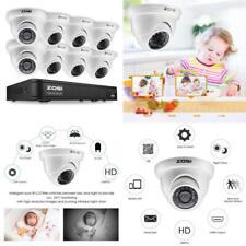 8 Camaras De Seguridad Para Casas 8Ch Hogar Video Vigilancia Hd 720P Waterproof