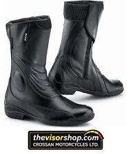 Ladies TCX LADY AURA Waterproof Motorcycle Boots - BLACK - EU38 / UK5