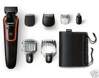 Afelitadora Recortadora Miniafeitadora Precisión 6 Accesorios Philips MultiGroom