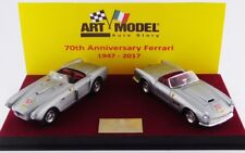 ART MODEL ART374 - Ferrari 340 Mexico et 250 California Argent 70 ans 1947  1/43