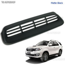 Matte Black Vent Hood Scoop Cover For Toyota Fortuner Suv 2Wd 4Wd 2012 2013 2014