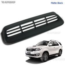 Matte Black Vent Hood Scoop Cover For Toyota Fortuner Suv 2Wd 4Wd 2012 2013 2014