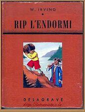 RIP L'ENDORMI par W Irving - dont belles illustrations par Pierre ROUSSEAU