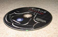 Assassin Creed Brotherhood Collector Edition BONUS DISC blu-ray Xbox One/PS3/PS4