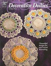 Decorataive Doilies Crochet Instruction Patterns Annies Attic Diane Stone NEW