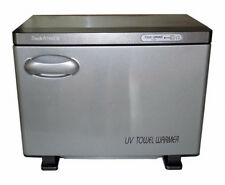 Touch America Standard Hot Towel Cabinet with Removable Baskets - Silver