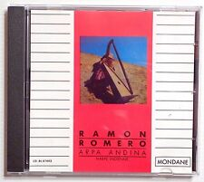 CD ALBUM / RAMON ROMERO - ARPA ANDINA - HARPE INDIENNE / MONDANE SUISA