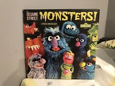 Sesame Street Monsters CTW22071 Vintage Kids/childrens Jim Henson Muppeta LP