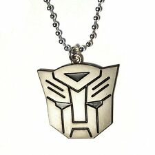 Autobots Logo Transformers STAINLESS STEEL Pendant Necklace the last knight