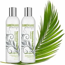 Moroccan Argan Oil Shampoo and Conditioner for Damaged, Dry Curly or Frizzy Hair