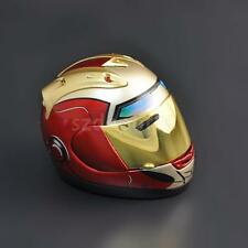 1/6 Scale Red Motorcycle Helmet Visor For Hot Toys Iron Man Head Sculpt