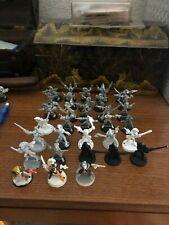 Warhammer 40K Rogue trader Eldar Harlequins 33 pcs  OOP Metal almost complete