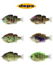 Deps Tiny Bullshooter 100 Slow Sinking Swimbait/Glide Bait - Select Color(s)