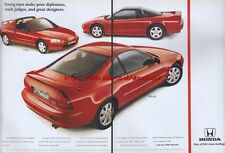 Honda Prelude CRX, NSX Car 1993 Magazine Advert #119
