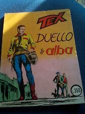 TEX DUELLO ALL'ALBA NUMERO 59 COLLANA GIGANTE GENNAIO 1969 ARALDO EDITORE