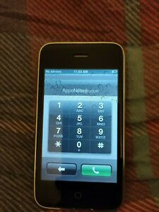Apple iPhone 3rd Generation - 3G 4GB Rare Software - Vintage Collectors