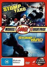 STOMP THE YARD + STOMP THE YARD: HOMECOMING - BRAND NEW & SEALED REG.4 DVD
