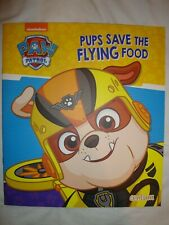 Paw Patrol Book - Pups Save The Flying Food - Picture Story Book - Brand New
