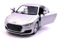 Audi Tt Kompakt Atleti Modellino Auto Auto Argento Scala 1:3 4 (Licenza)