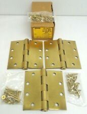 "Stanley F179-NRP 4-1/2"" X 4-1/2"" US4 Full Mortise Plain Bearing Steel Hinge 1715"
