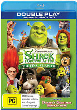 SHREK - FOREVER AFTER - DOUBLE PLAY (BLU-RAY + DVD) BRAND NEW!!! SEALED!!!