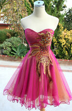 NWT HAILEY $170 Pink Womens Evening Prom Party Gown 2