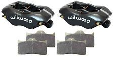 """WILWOOD FORGED DYNALITE BRAKE CALIPERS,PADS,1.10"""" DISC,1.75,STREET STRIP,HOT ROD"""