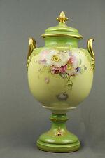 Royal Bonn Porcelain Vase With Beautiful Floral Painting -19th century