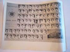1958 & 1959 DELTA ZETA SORORITY CLASS PHOTOS - UNIVERSITY OF TEXAS - TUB OFC