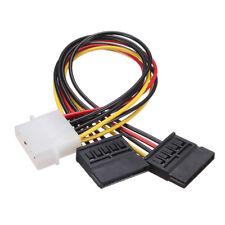 Disk Hard CONVERTITORE SATA IDE Adattatore HD Driver Cavo 4 PIN 15 PIN ha