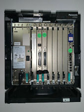 PANASONIC KX-TDE100 IP-PBX with MPR, PS, LCOT8, CID8, & DLC16